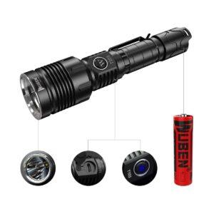 WUBEN LED taskulamp 1280lm 1/4
